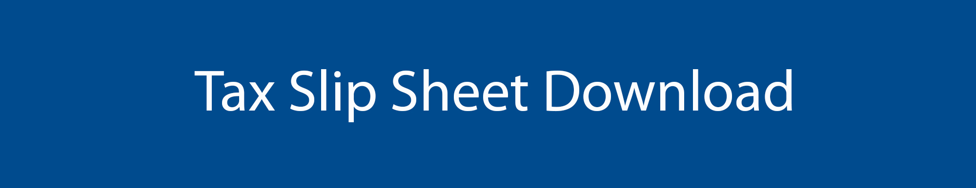 Lang Allan & Company Tax Slip Sheet Download