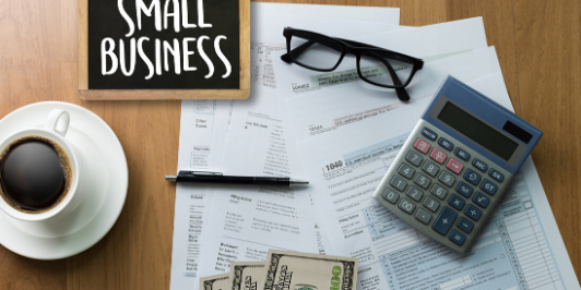 Small Business desk invoices calculator